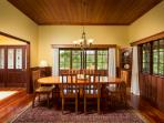 Hunky's Homestead - Norfolk Island's Best Entertaining Accommodation - The Dining Room