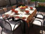 Table outdoor.