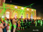 Show laser -  façade Renaissance
