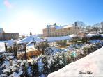 Parc du château en février