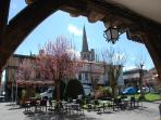 The square in medieval Mirepoix