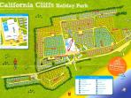 California Cliffs Holiday Park near Great Yarmouth.