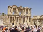 Excursion to Roman city of Ephesus.