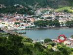 Localização de 'La Buena Vida' dentro da paisagem