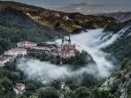 Basílica de Covadonga, en Picos de Europa.