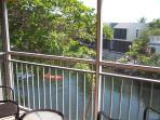Lagoon view from Master Bedroom Balcony