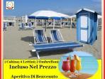 Servizio Spiaggia Incluso Beach Service Included