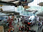 The National Air & Space Museum has amazing displays to look back into the past