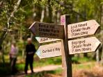 Enjoy a wide range of trails in the surrounding area