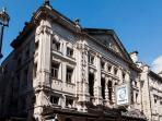 The beautiful theatres of Covent Garden, and next to Leicester Square