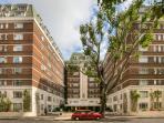 Nell Gwynn House. Art deco block of luxury serviced apartments