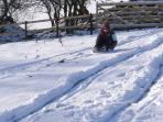 We provide the sledge, Wales provides the snow and the rest is up to you.