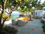 Una meravigliosa terrazza/giardino dove trascorrere momenti di relax