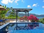 Stunning private rooftop terrace with views over Kata Noi Beach