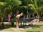 Nice mini golf for all ages
