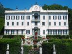 Villa Carlotta in Tremezzo is famous for its terraced gardens and sculpture gallery