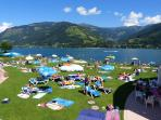 zell am see lakeside pools and beach