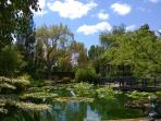 Peaceful gardens to visit in Marmande (25 km)
