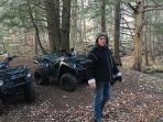 ATV trail nearby home