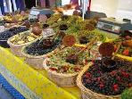 Les olives, les marchés de Provence