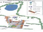 plan of Le Faouet gites