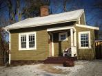 A winter dusting on Corner Cottage