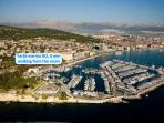 Yacht marina ACI, 6 min walking from the room