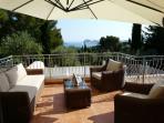 mobilier et terrasse