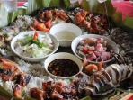 local food you can order it in mdf beach resort