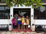 the group enjoy there stay in mdf beach resort