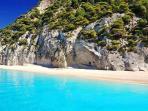 The Bali Estate Lefkada, Greece : Egremni Beach