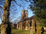 Holy Trinity church, Cowling.