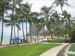 Now the ????, Here in Waikiki
