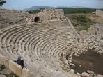 Nearby: ...and Patara's ancient roman  ampitheater to boot