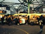 Borough Market 10 min walk away