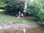Fishing in the area