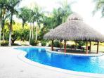 complex pool is 100ft from front door