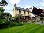 This farmhouse in a secluded location in the North West of the Brecon Beacons National Park