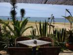 Cafe on Praia Grande beach.