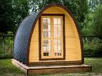 Glamping / Camping Pods in Beautiful Burgundy
