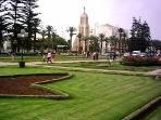 La Park de Mohammedia avec son Eglise