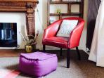 Easy chairs, cosy cushions and throws, The Mill has that homely feel and helps you immediately relax