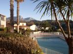 La résidence et la piscine
