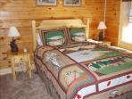 Fish Bedroom - Queen-sized Bed