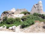 Asklipio Castle only 4 km away from Kiotari