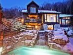 Relax at Scandinave Spa Mont-Tremblant