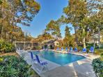 You'll be only steps away from this community pool!