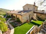 Villa and garden.,