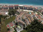 vista aérea urbanización