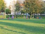 Zona de ar livre no Parque
